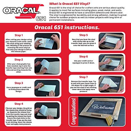 how to cut oracal 651 on cricut