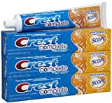 Crest Plus Scope Toothpaste-Citrus-6.2 Oz