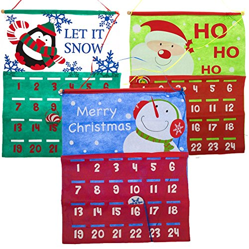 Countdown To Christmas Calendar; One Piece, Styles Vary