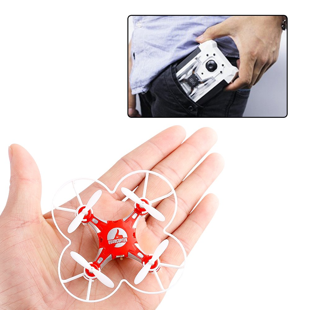 Mini Pocket Drone 4CH 6 Axis Gyro RC Micro Quadcopter