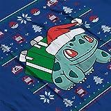 Christmas-Bulbasaur-Knit-Pattern-Pokemon-Kids-Varsity-Jacket