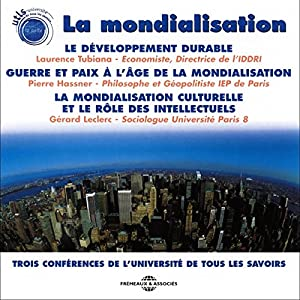 La mondialisation Discours