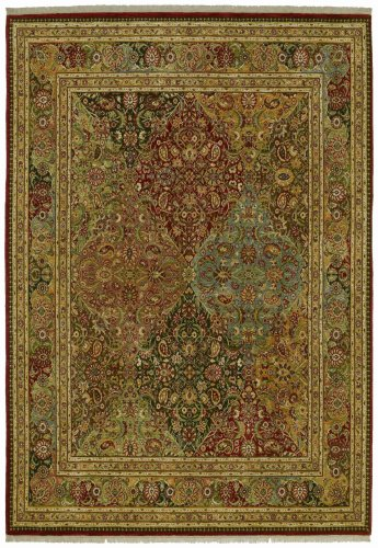 Shaw Living Kathy Ireland Home First Lady 2-Foot 6-Inch by 8-Foot Rug in American Jewel Pattern, Multi