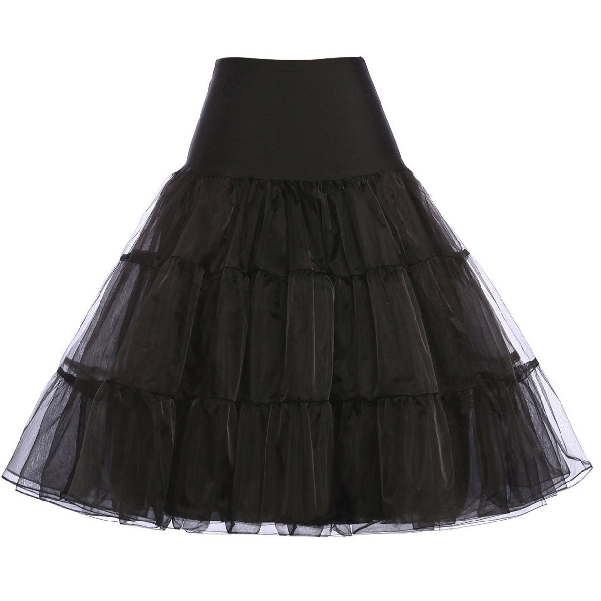 GRACE KARIN®Women 50s Petticoat Skirts Tutu Crinoline Underskirt CL8922 0