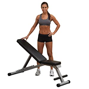 Body-Solid Powerline Flat/Incline/Decline Folding Bench
