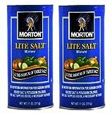 Morton Lite Salt 11oz(pack of 2)