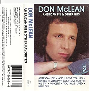 don mclean american pie other favorites music. Black Bedroom Furniture Sets. Home Design Ideas