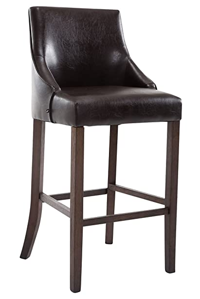 Sgabello da bar Innsbruck antique-darkly marrone