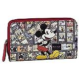 Disney Porte monnaie Rojo 16 cm