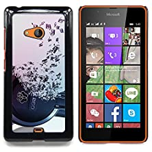 buy - Headphones Music Symbol Love Ears Notes - Slim Guard Armor Phone Case- For Microsoft Nokia Lumia 540 N540 Devil Case