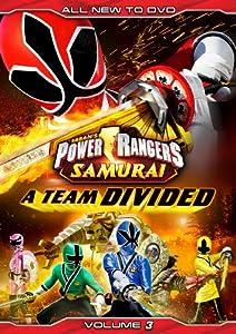Power Rangers Samurai: A Team Divided Vol. 3
