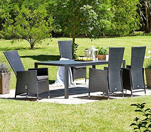 5566b56d5ce2 Get Cheap JYSK Table SKAGEN L205cm + 4 chairs SKIVE - Cheap Garden ...