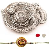 Combo Of Incence Stick Holder & Designer Rakhi