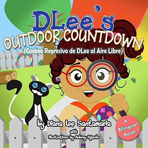 Diana Santamaria - DLee's Outdoor Countdown: English and Spanish Bilingual Version