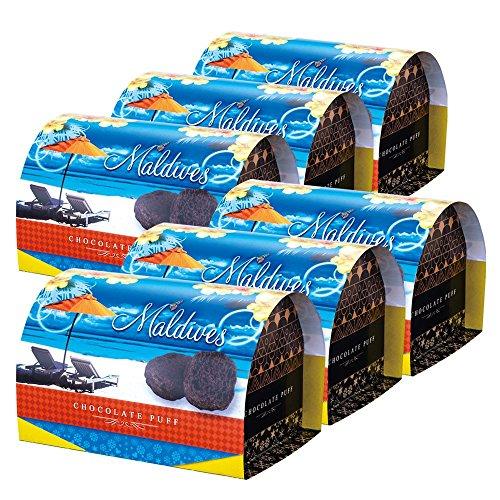 モルディブお土産 モルディブ チョコレートパフ 6箱セット