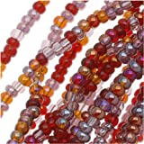 Czech Rocailles Seed Bead 11/0 (1/2 Hank Pack) Mix VINEYARD ~ Jablonex