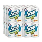 Scott Rapid Dissolve Bath Tissue, 4 C...