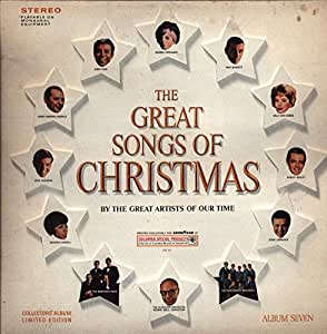 Great Songs of Christmas By Great Artists of Our Time Album Seven