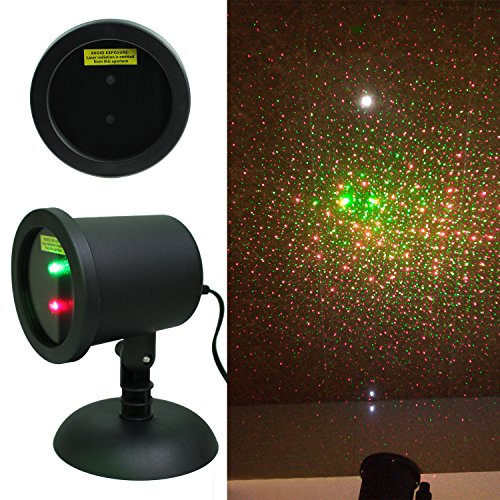 Wall Decoration Laser Lights : Waterproof red green dual laser landscape projector