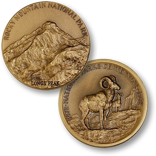 Rocky Mountain National Park Coin - 1