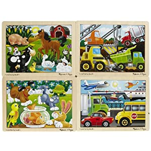 Melissa Doug Deluxe Jigsaw Puzzles