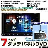 2DIN WVGA7インチタッチパネル車載DVDプレーヤー/USB/CD/SD[9268D15]+4x4フルセグチューナーセット