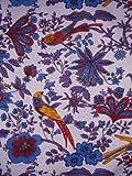 Birds in Paradise Tapestry-Bedspread-Coverlet-Versatile