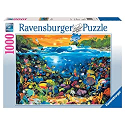 [Best price] Puzzles - Ravensburger Underwater Fun - 1000 Pieces Puzzle - toys-games