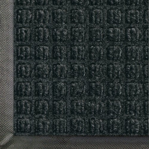 Andersen 200 Charcoal Polypropylene Waterhog Classic Entrance Mat, 5' Length X 3' Width, For Indoor/Outdoor front-633887
