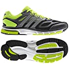 Adidas Mens Supernova Sequence 6 Running Shoes Black/Silver/Electric Green G97479 Size 11.5