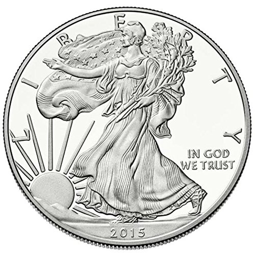 2015 - 1 oz American Silver Eagle .999 Fine Silver Dollar Uncirculated US Mint