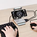 Amazing Keyboard and Mouse Converter for Hot PUBG Like, FPS, RoS, Mobile Legend games, Phone Holder, Power bank (Color: Cleared, Tamaño: Standard)