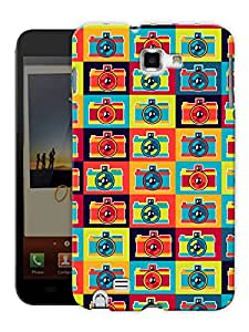 "Humor Gang Retro Camera House Printed Designer Mobile Back Cover For ""Samsung Galaxy Note 1"" (3D, Matte, Premium Quality Snap On Case)"