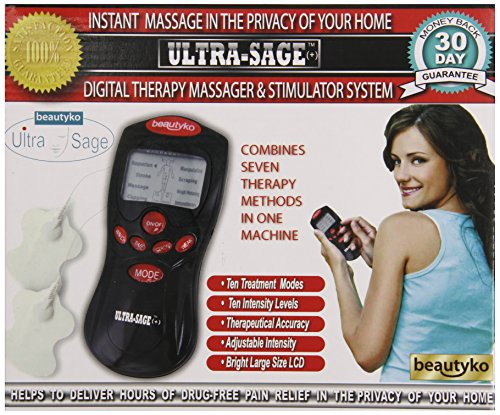 Beautyko Ultra Sage Instant Ems Pain Relief Deep Muscle Tissue Massager