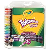 Crayola 30 Count Twistable Colored Pencils