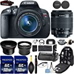 Canon EOS Rebel T5i DSLR Camera with...
