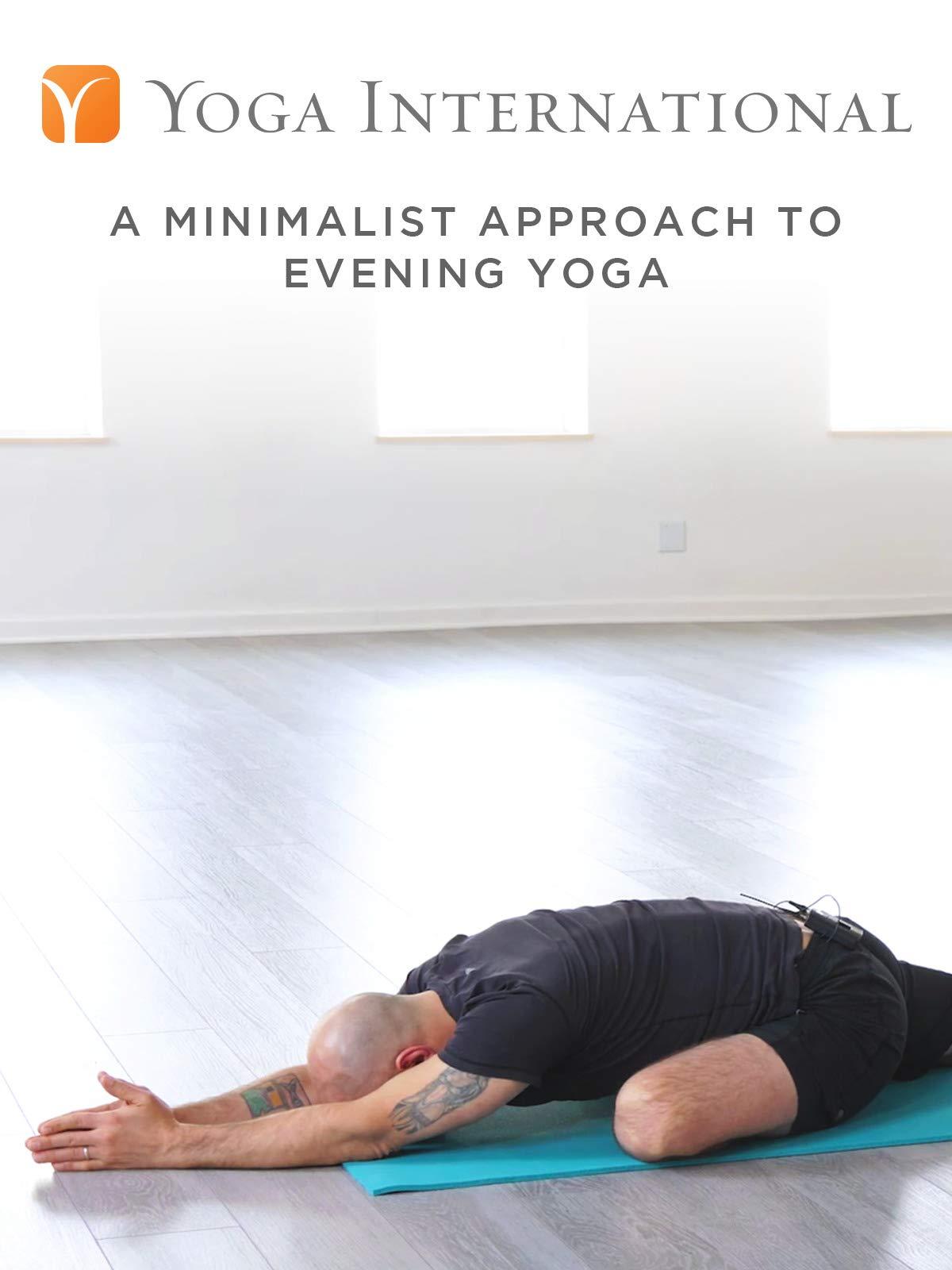 A Minimalist Approach to Evening Yoga