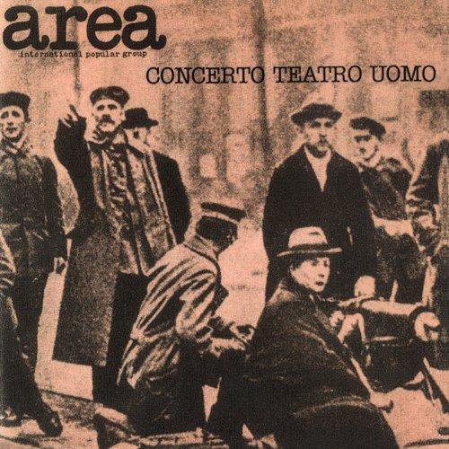 CD : Area - Concerto Teatro Uomo (live 1977) (Germany - Import)