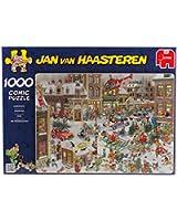 Diset - 13007 - Puzzle Classique - Comic 1000 - Noël - 1000 Pièces