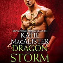 Dragon Storm (       UNABRIDGED) by Katie MacAlister Narrated by Tavia Gilbert