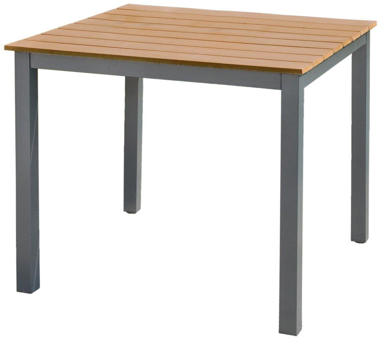 Greemotion Tisch klein Genua, Mehrfarbig, ca. 90 x 90 Höhe: ca. 74 cm
