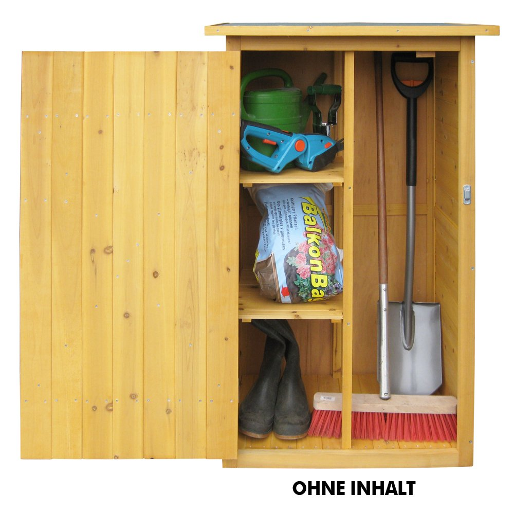 Garden storage cupboard shed small wooden outdoor tool store patio lawn mowers ebay - Armoire de jardin solide ...