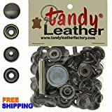 Tandy Line 24 Snaps 15 Set with Tool (GUN)