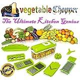 Alfa Mart-Genius Nicer Dicer Plus Multi Chopper Vegetable Cutter Fruit Slicer