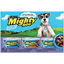 Purina Mighty Dog Wet Dog Food, 3 Flavor Variety Pack In Gravy (Chicken/Beef/Tenderloin), 5.5-Ounce Can, 2 Packs of 12