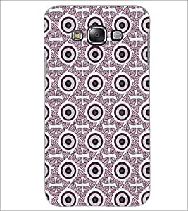 PrintDhaba Pattern D-5403 Back Case Cover for SAMSUNG GALAXY A7 (Multi-Coloured)