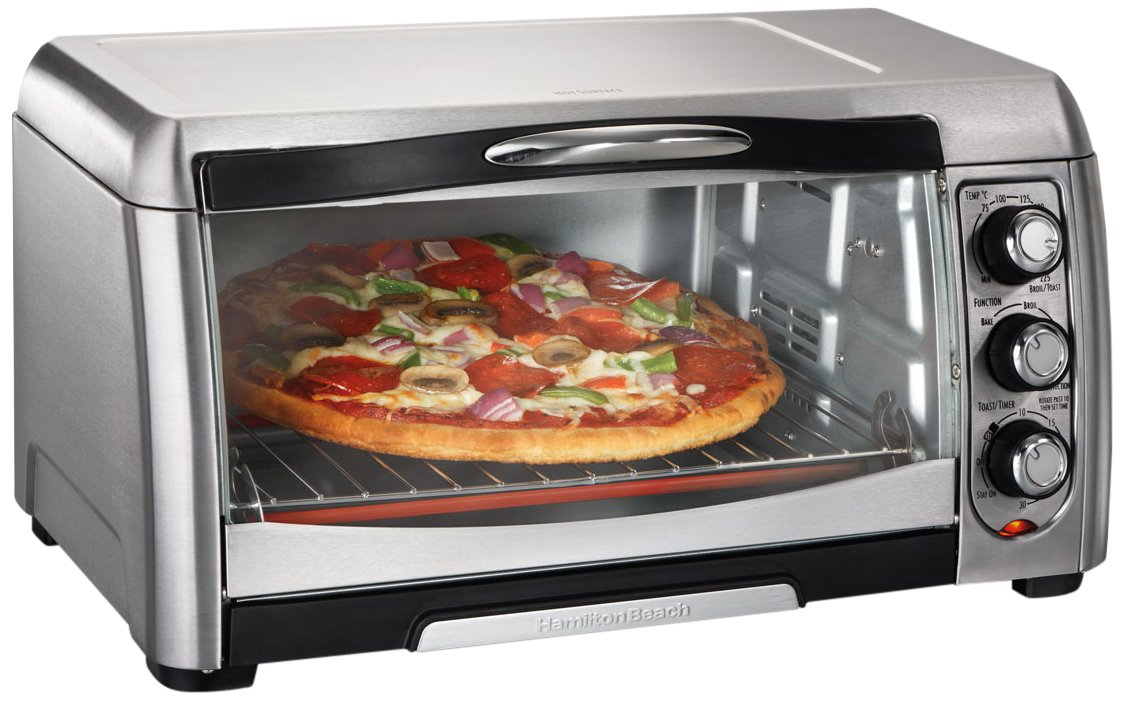 Hamilton Beach 31333-IN 16-Litre 1400-Watt Stainless Convection Toaster Oven