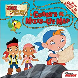 Jake and the Never Land Pirates Cubby's Mixed-Up Map