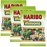 Haribo Minions Sauer 3er Set 450g UK-Import von Junior Toys
