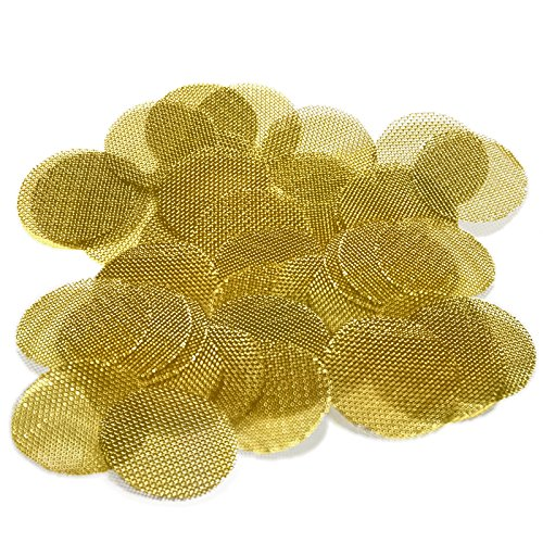 50 Beamer Premium Brass Pipe Screens 0.750